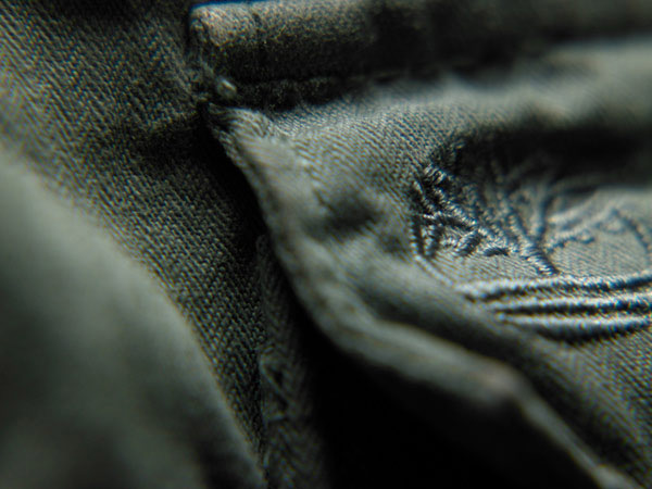 Timberland clothing detail