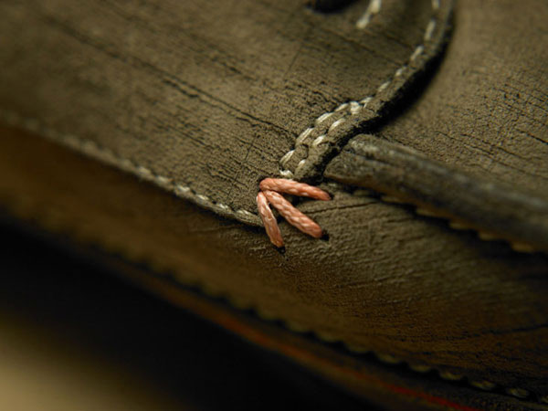 Timberland shoe detail